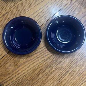 2 fiesta cereal bowls